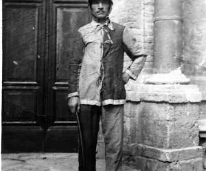 1924-16 AGO IL FANTINO ANGELO MELONI DETTO PICINO AL BIVIO