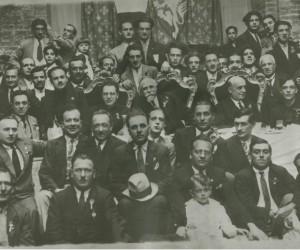 1925- TERZA DOMENICA DI OTTOBBRE BANCHETTO DI CHIUSURA DELL' ANNO CONTRADAIOLO