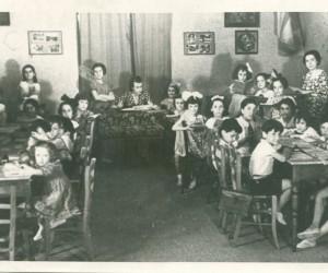 1938- IL DOPOSCUOLA ORGANIZZATO DALLA SEZIONE PICCOLI