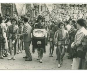 1954- 18 LUGLIO CERIMONIA CONSEGNA MASGALANO DEL 2 LUGLIO