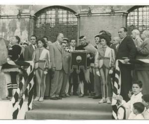1954- 18 LUGLIO CERIMONIA CONSEGNA MASGALANO DEL 2 LUGLIO 4