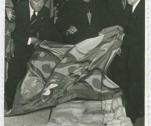 1954- 29 APRILE VIENE SCOPERTA LA LAPIDE DEL LEONE