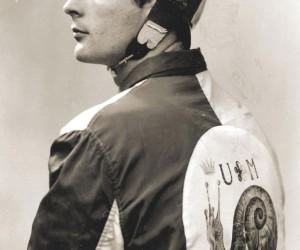 1957-2 LUGLIO FOTO DI PROFILO  DI VITTORINO GIORGIO TERNI