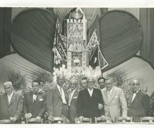 1957 8 SETTEMBRE FESTEGGIAMENTI PER LA VITORIA DEL 2 LUGLIO A