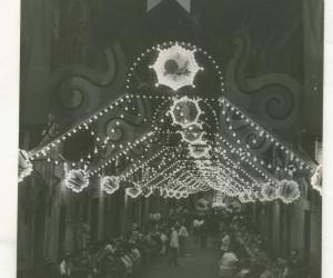 1957 8 SETTEMBRE FESTEGGIAMENTI PER LA VITORIA DEL 2 LUGLIO D