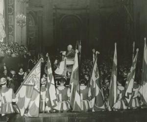 1959- 31 MAGGIO LA COMPARSA IN S.PIETRO A ROMA